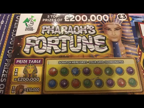 Scratch cards - pharaoh fortunes