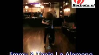 Tanja La Alemana ft Jimmy Teunis dancing bachata