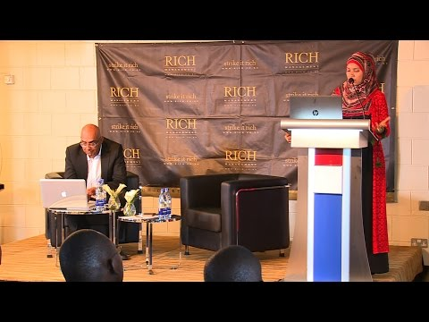 #Mindspeak Presentation, Sumayya Hassan-Athmani, CEO. National Oil @SumayyaAthmani