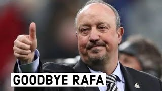 Gambar cover Rafa Benitez leaves Newcastle United