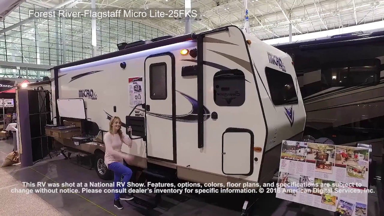 Forest River Flagstaff Micro Lite 25fks Youtube