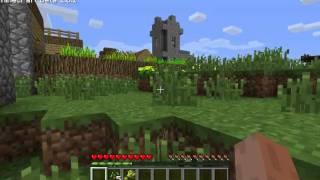 Minecraft 1.8 AMD Radeon HD 6670 gameplay