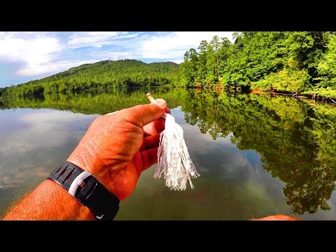 Gar Fishing With Rope! No Hook Needed!