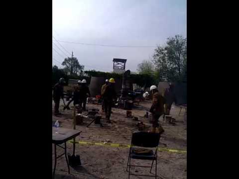 Qik - Denver RiNo Iron pour by frank bredow