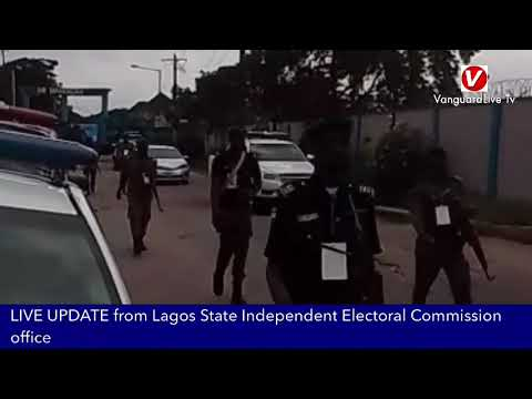 LIVE UPDATE from Lagos State Independent Electoral Commission office