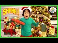Ryan wants to Catch Santa Claus and leave him a special gift!!!