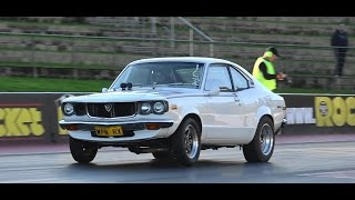 WPN RX 10 SEC RX3 COUPE AT SYDNEY DRAGWAY 26.7.2015