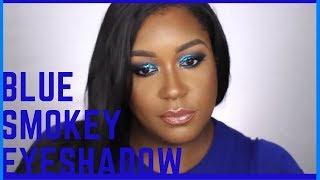 #Shaysquad #ShaylaxColourpop BLUE SMOKEY EYESHADOW/ SHAYLA x COLOURPOP