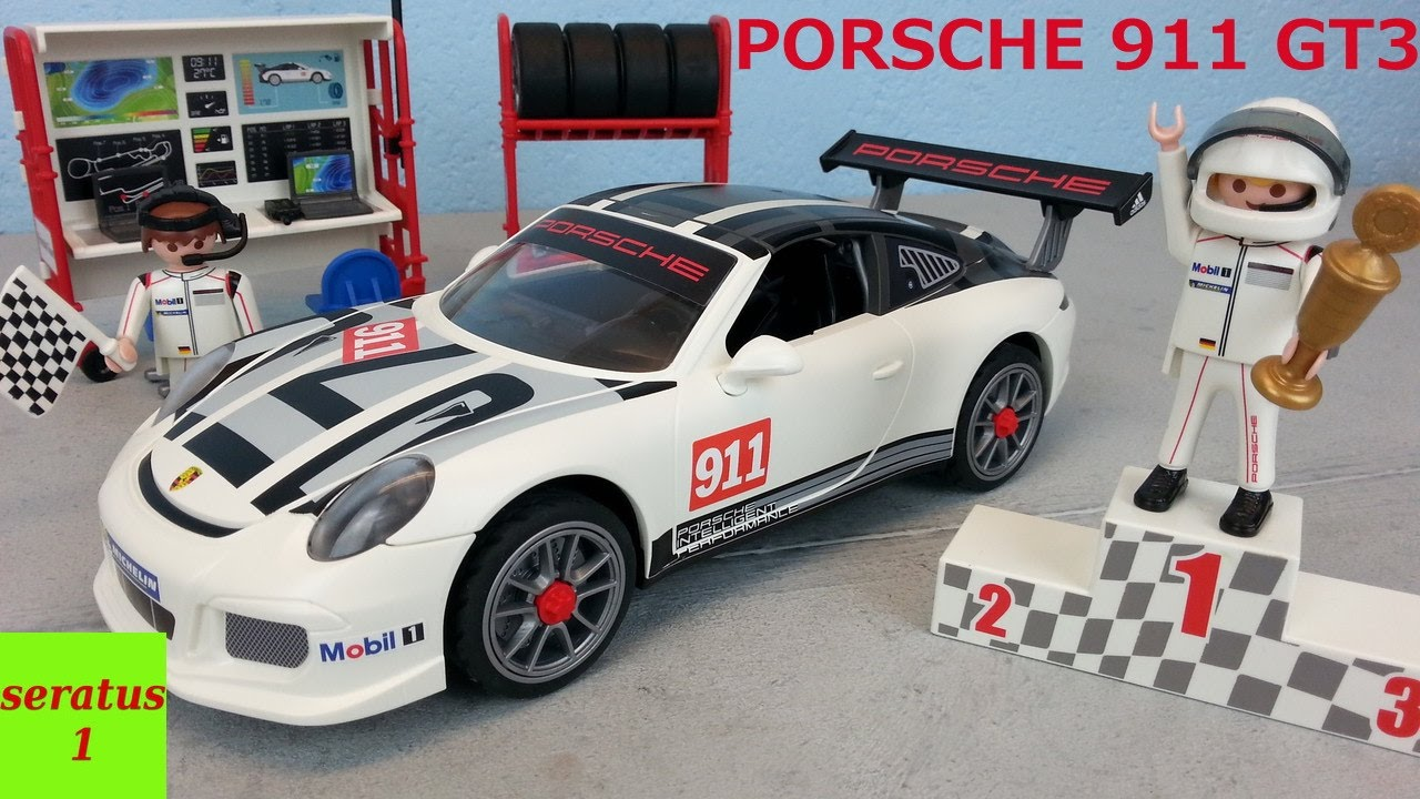 playmobil porsche 911 gt3 cup auspacken seratus1 sportwagen youtube. Black Bedroom Furniture Sets. Home Design Ideas