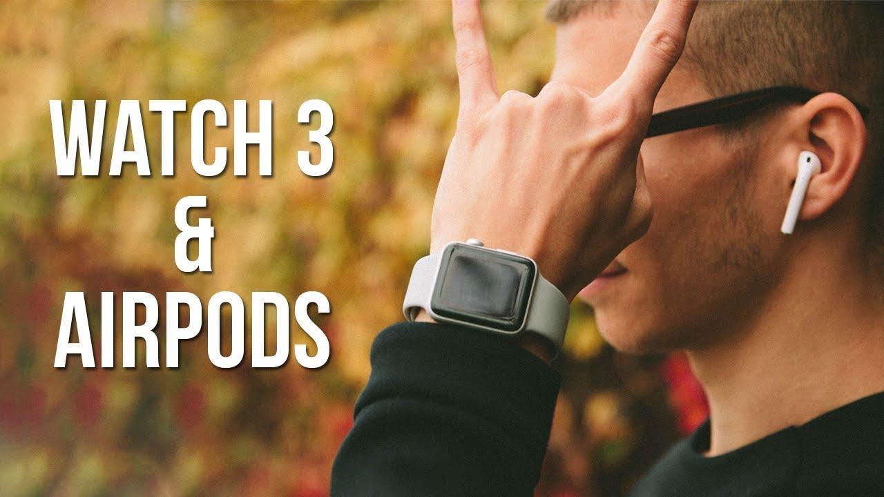 Apple Watch Series 3 & Airpods: Review în Română