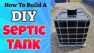diy septic tank - diy septic tank