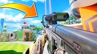CALL OF DUTY meets HALO!!! (EPIC SNIPER BATTLE)