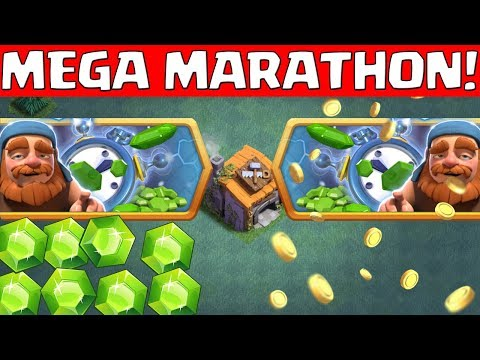 MEGA MARATHON in der Bauarbeiterbasis! || Clash of Clans [Deutsch German]
