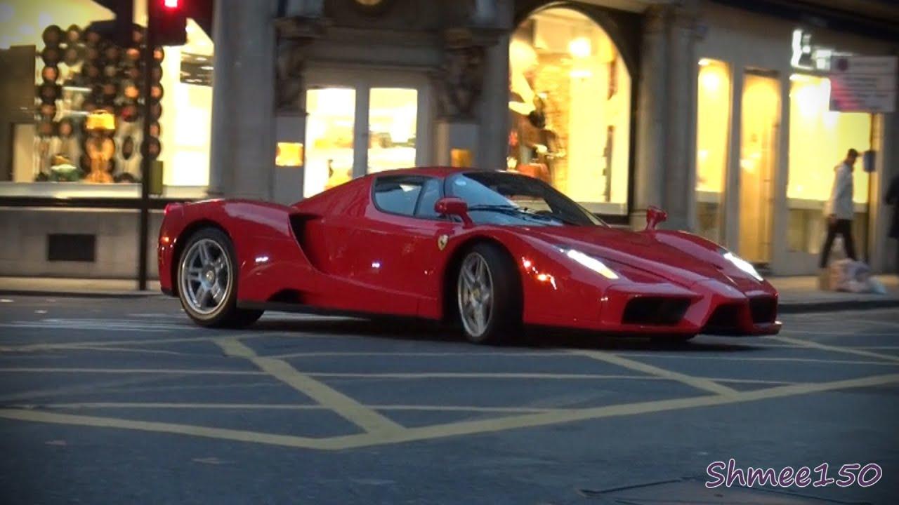 London Wallpaper Hd 1920x1080 A Very Noisy Ferrari Enzo Startup And Driving Youtube