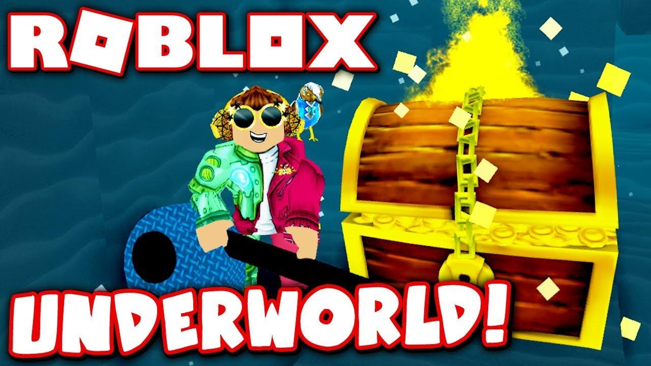 Buried Treasure In The Underworld Roblox Treasure Hunt