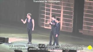 [ENG SUB] 141213 JYJ in Osaka (dirty talk) MP3