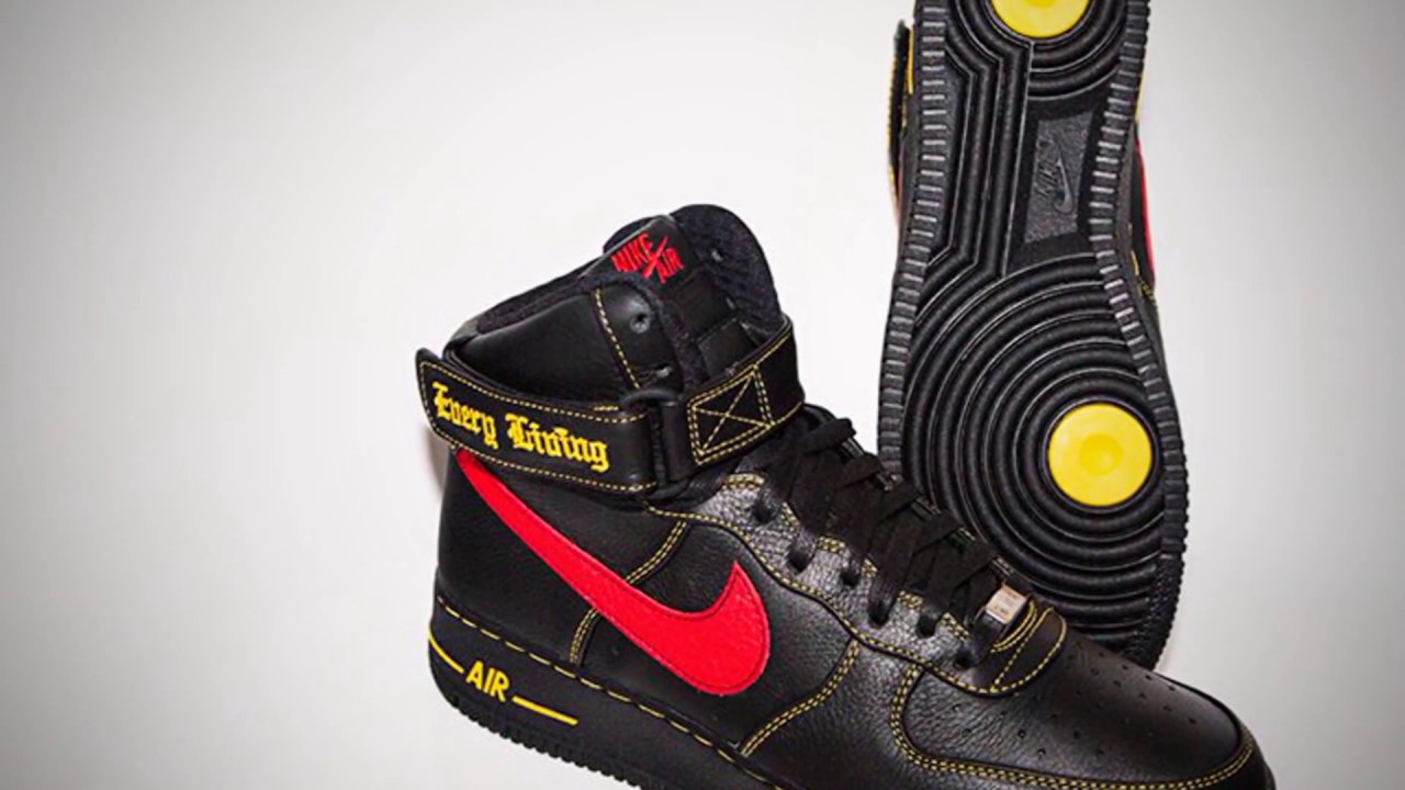 A$AP BARI REVEALS NEW VLONE AIR FORCE 1S - AND HOW TO WIN THEM