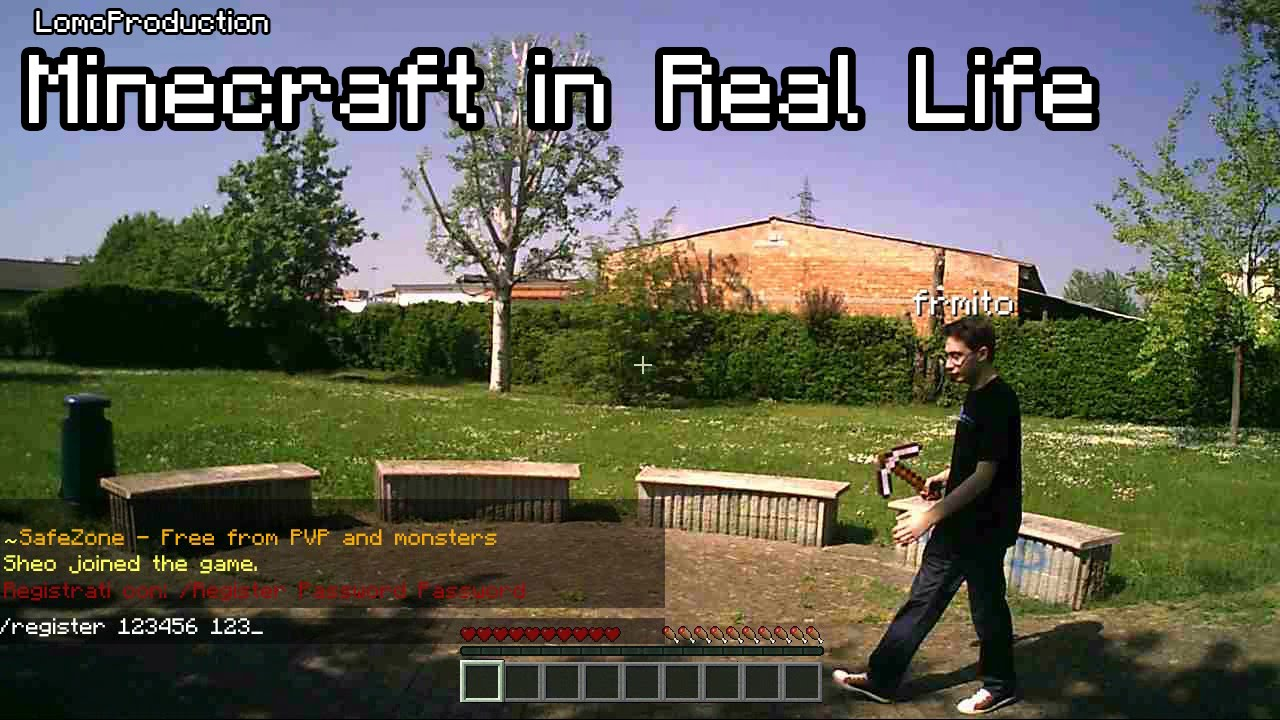 how to make a minecraft server in real life