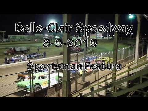 Belle Clair Speedway Sportsman Feature August 9 2019