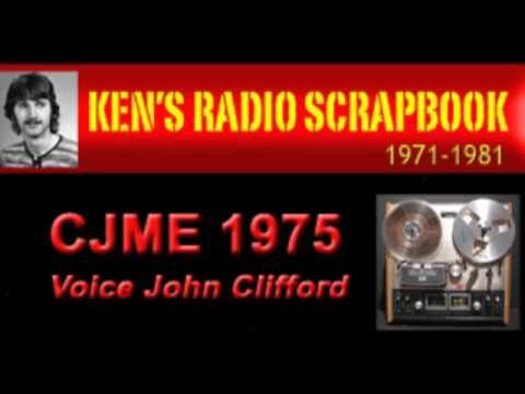 CJME John Clifford - Regina Saskatchewan - 1976 ARCHIVED RADIO