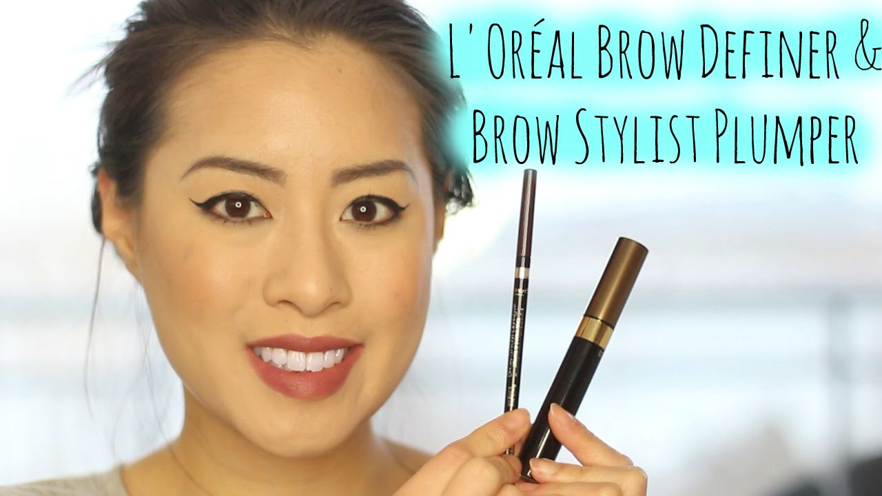 6f107b2d22b L'Oréal Brow Definer + Brow Stylist Plumper | First Impressions +  Application + Review - YouTube
