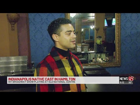 'Hamilton' cast brings Indianapolis native home