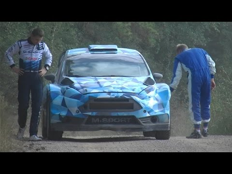 Ott Tanak Fail Test | Ford Fiesta WRC 2017 by Jaume Soler