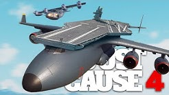 FLYING AIRCRAFT CARRIER COMBAT in Just Cause 4!