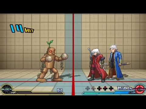 Project X Zone 2- Dante and Vergil attacks