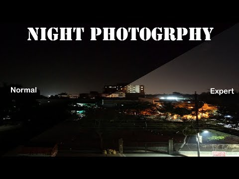 Mobile night photography | How to use Camera Expert mode in Oppo Realme