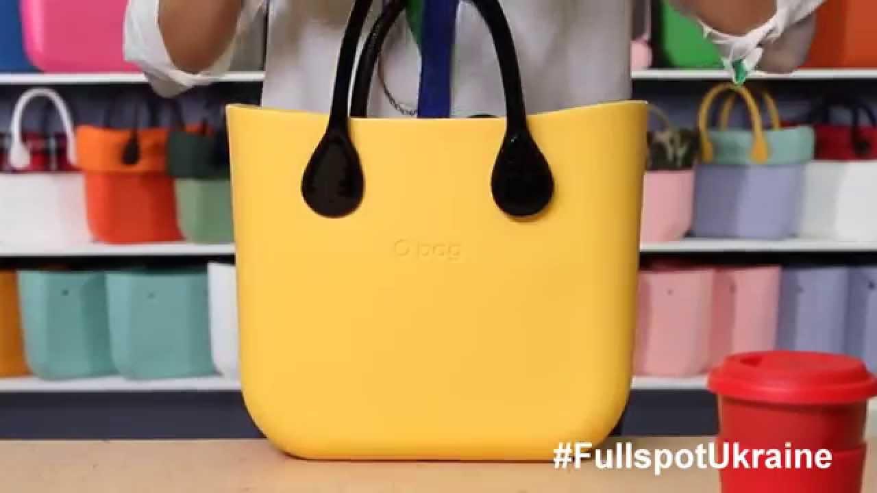 1cc112b50d14 Сумка O bag Mini/ Размер - YouTube