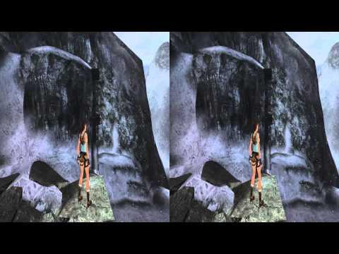 3D Stereo Game Play Tomb Raider  Anniversary
