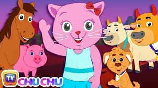 Three Little Kittens Went To The Farm (SINGLE) | Nursery Rhymes by Cutians | ChuChu TV Kids Songs