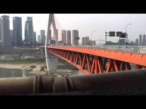 Time lapse   City Life - Chongqing, china