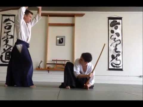 Still of bokken kata