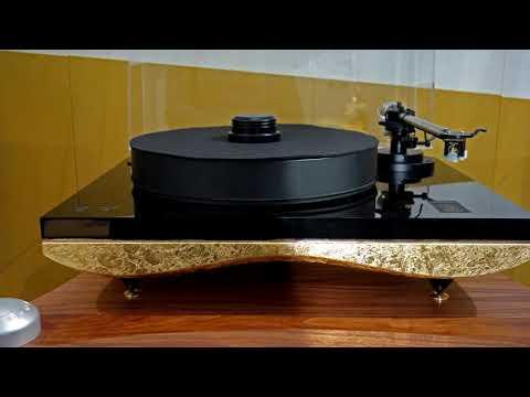 Золотое покрытие проигрывателей пластинок Gold Note