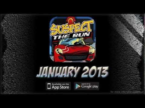 SUSPECT: THE RUN! - MOBILE GAME BY JUJUBEE (IOS/ANDROID), COMING JANUARY 2013!