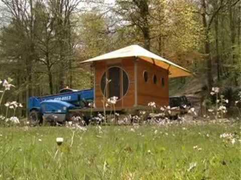 Montage et installation de la cabane sur pilotis zenzeyos - Abri de jardin sur pilotis ...