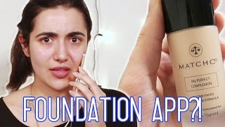 I tried out the MatchCo app, a custom foundation-matching app! Can your phone send you the perfect foundation? You guys will have to let me know what you ...