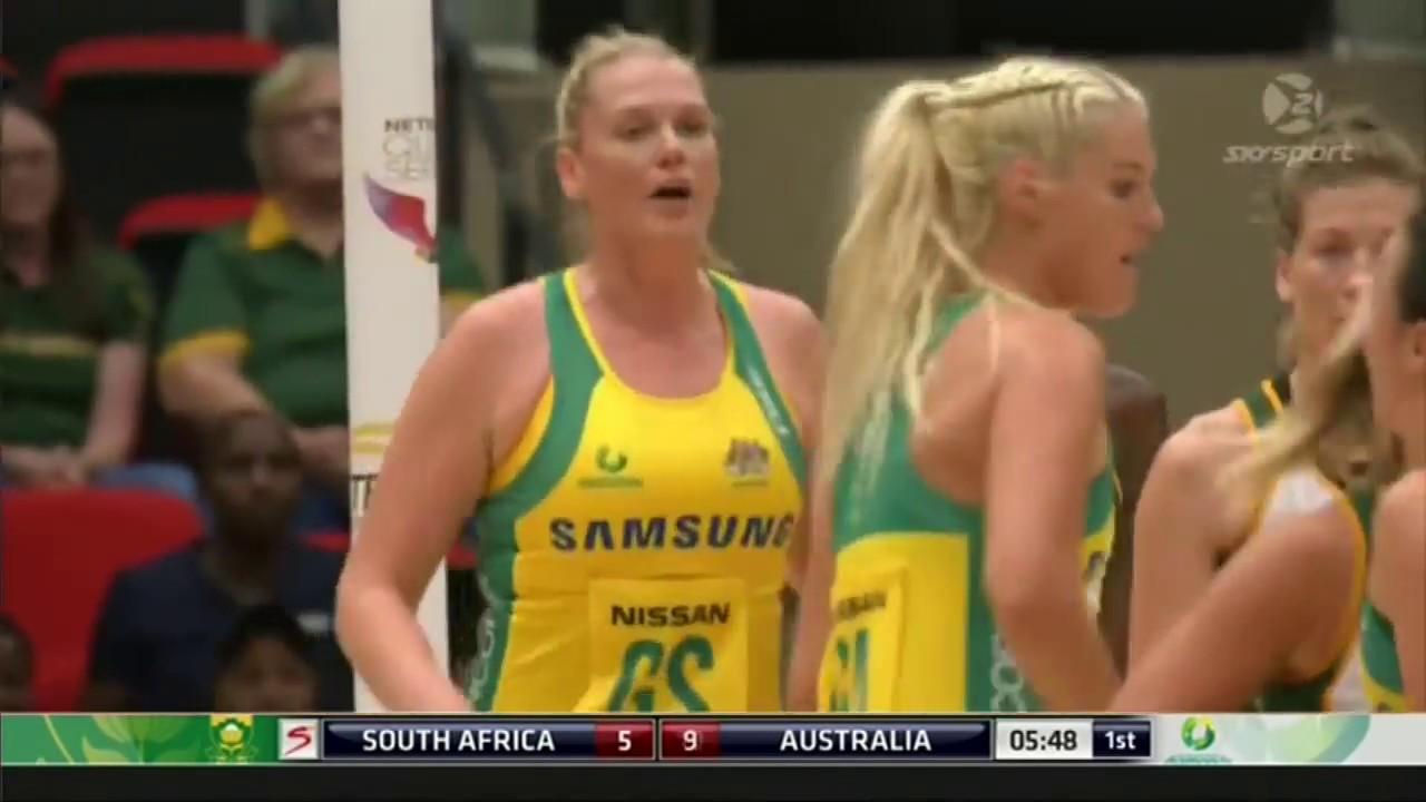 Netball  Australia vs  South Africa  2017 Quad Series    Full Match
