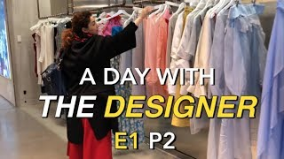 Flying Solo TV - A day with fashion designer Elena Rudenko - Part 2