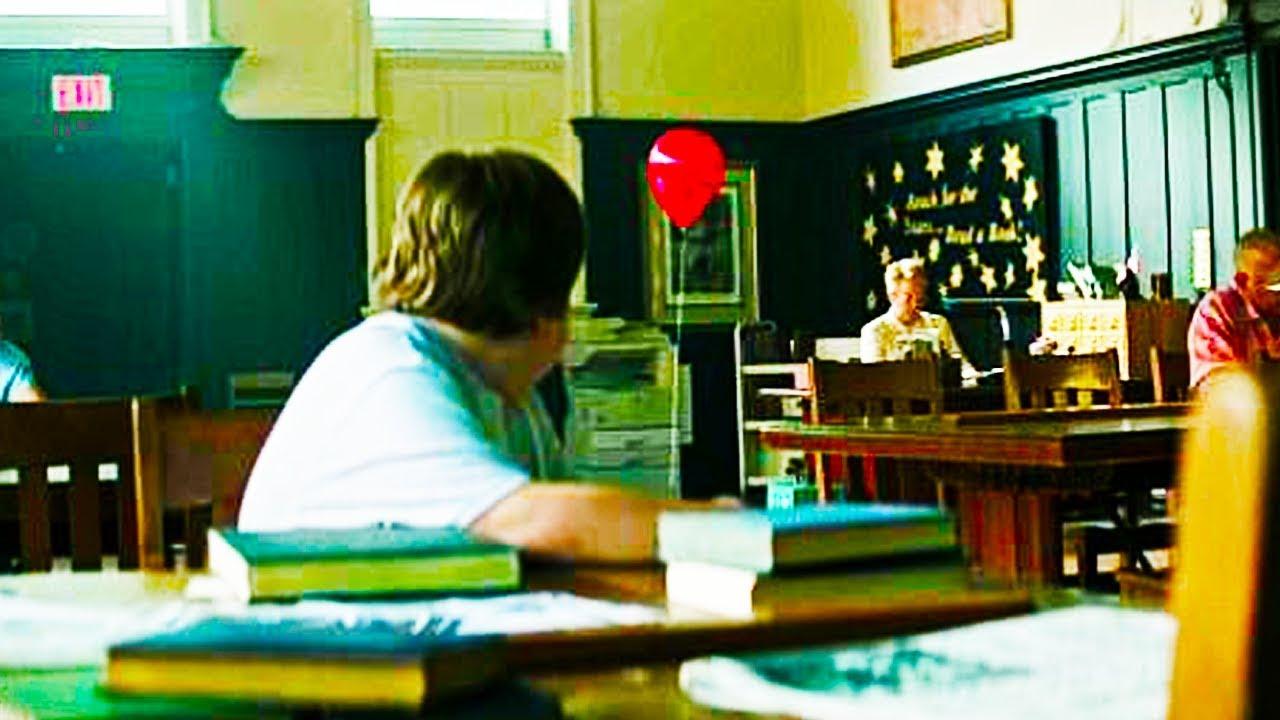 IT (2017) Ben Library Headless Boy Chase Scene