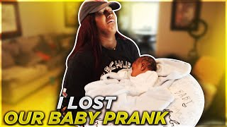 I LOST OUR BABY PRANK ON GIRLFRIEND!!! **EMOTIONAL**
