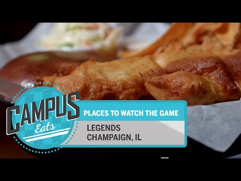 Campus Eats: Legends | Illinois
