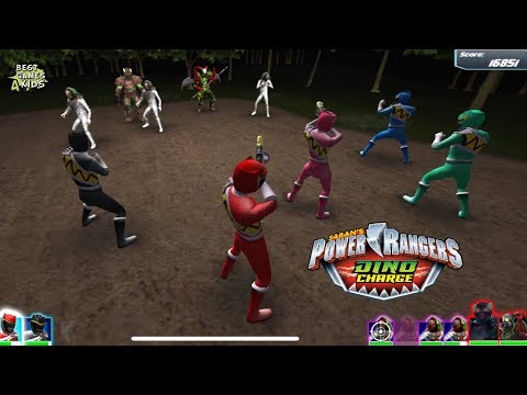 Power Rangers Dino Charge Rumble   DOUBLE TROUBLE! Challenge, iPhone XS Max Gameplay