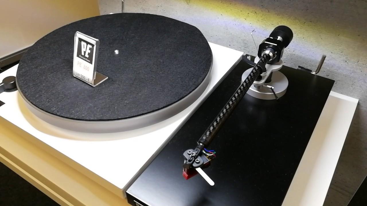 Perpetuum Ebner PE 800 turntable - YouTube