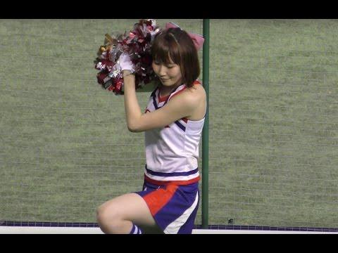 【4K】超絶可愛すぎるチアガール♥そして盛り上がる熱い応援!最高!都市対抗野球 kawaii HONDA ACURA cheering squad in Japan