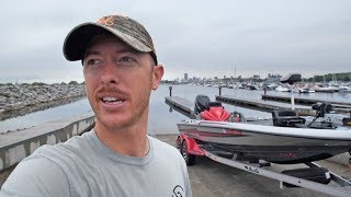 Biggest Water I've Ever Fished! 350HP BASS BOAT!