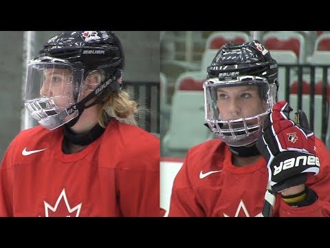 Two sisters could earn spots on Canada's Olympic hockey team