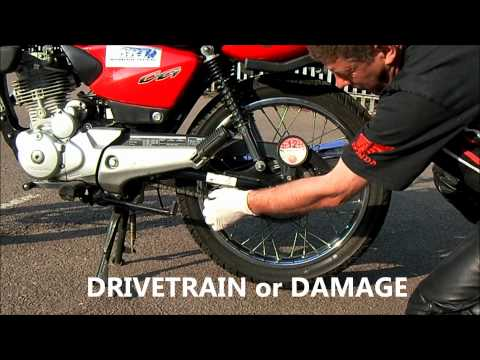 How to Ride a Motorcycle - Basic Maintenance by Advanced Riding Techniques Ltd